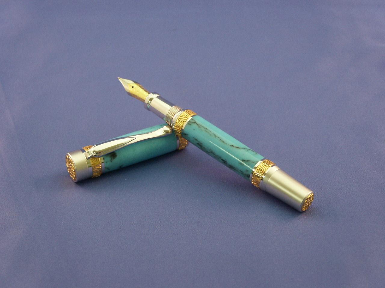 Turquoise Fountain Pen