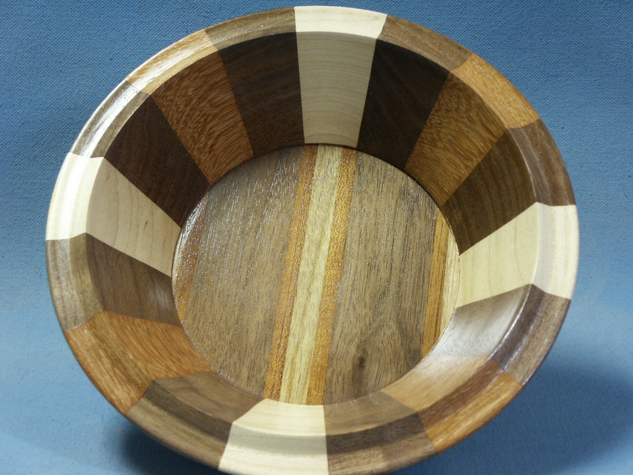 Walnut Segmented Bowl