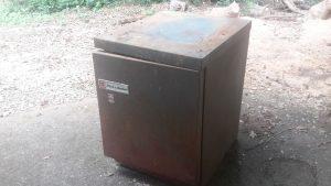 rusty tool base