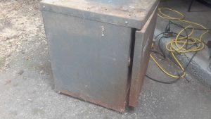 tool cabinet side