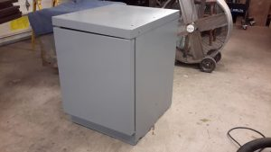 tool cabinet new paint side view