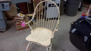 Windsor chair wedges